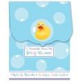 Rubber Ducky Baby Shower Keepsake Registry